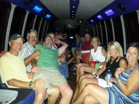 50th Birthday Party Bus Transportation